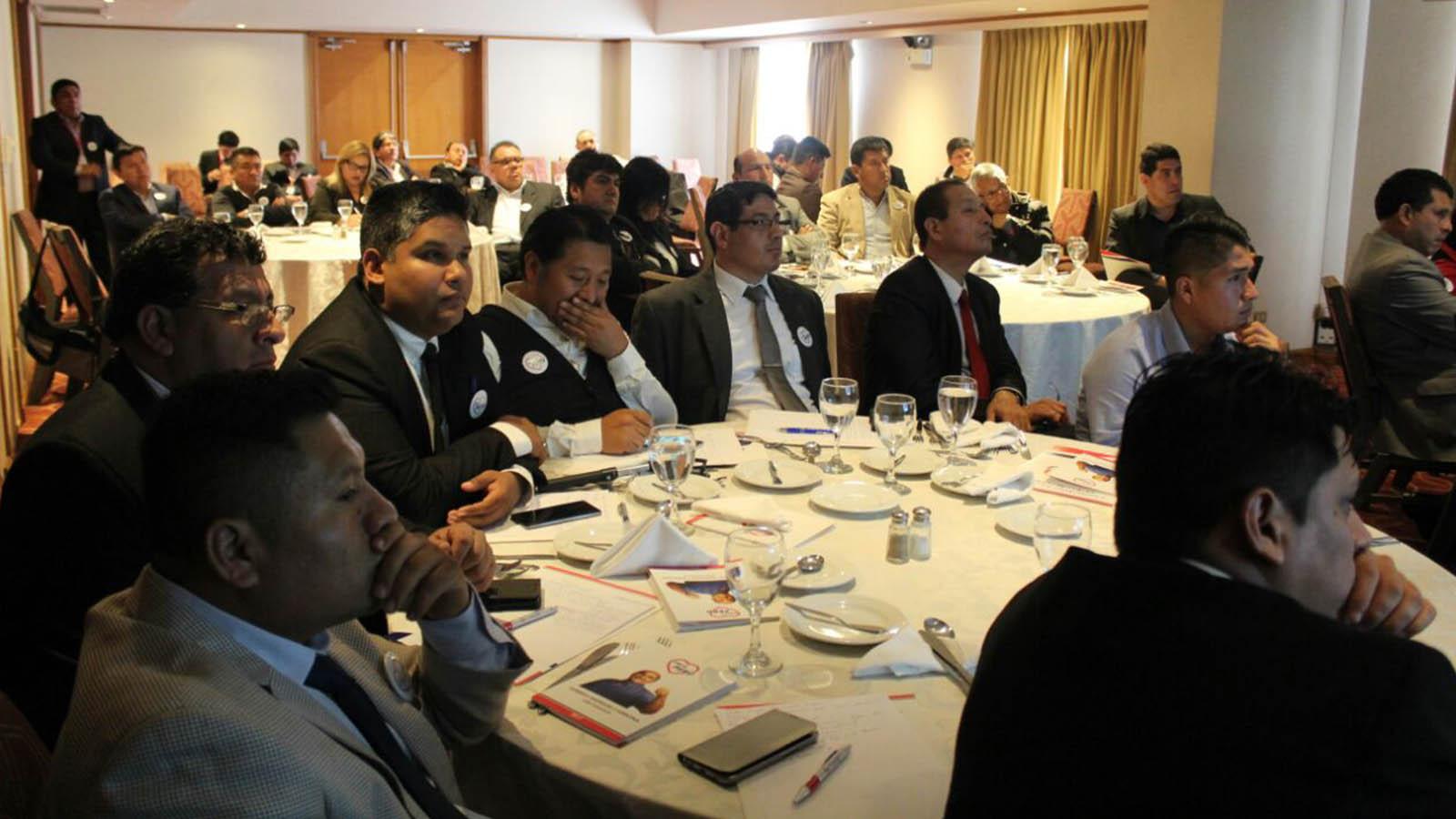 Somos Perú realizará capacitaciones con financiamiento público