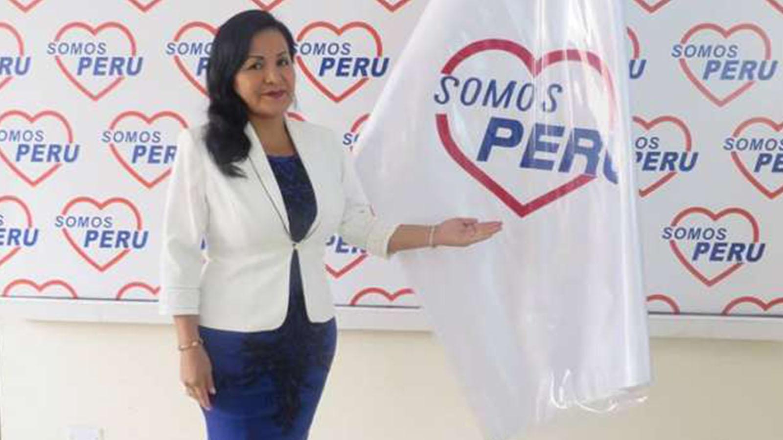 Designan coordinadora regional de Somos Perú a Corina de la Cruz