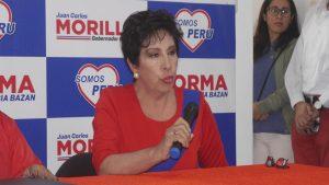 Regidora Norma Alencastre fue presentada en Somos Perú