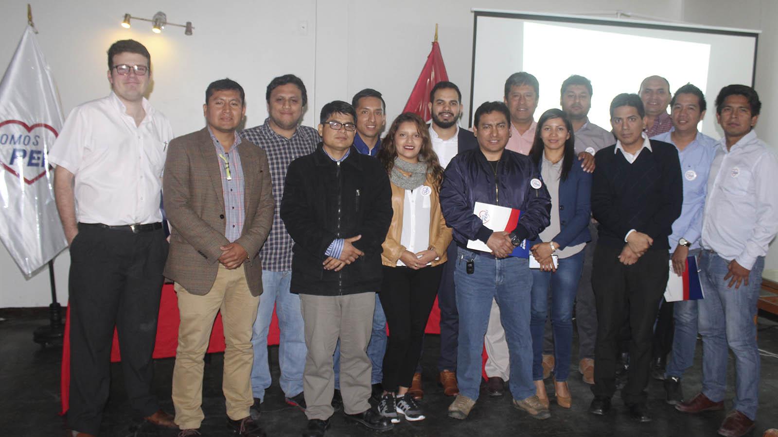 Somos Perú inicia capacitación y formación a nuevos líderes